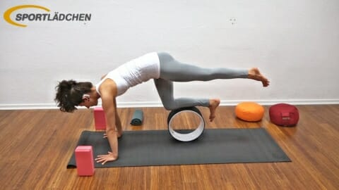 Yoga Wheel Uebungen A1