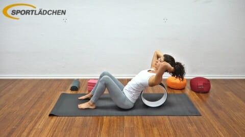 Yoga Wheel Uebungen C2