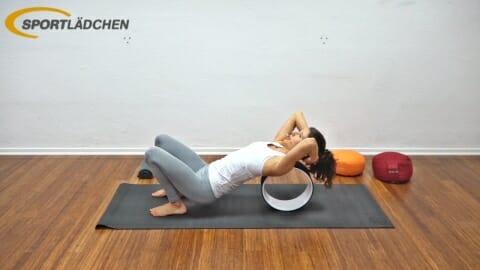 Yoga Wheel Uebungen C4