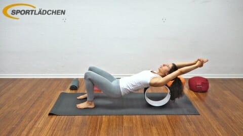 Yoga Wheel Uebungen D1
