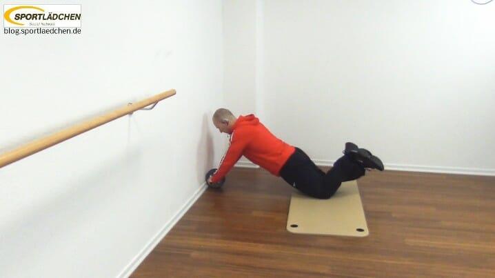 rolle für bauchmuskeln