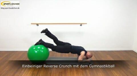 Einbeiniger Reverse Crunch 4a