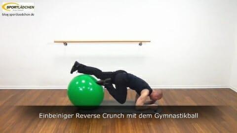 Einbeiniger Reverse Crunch 4b