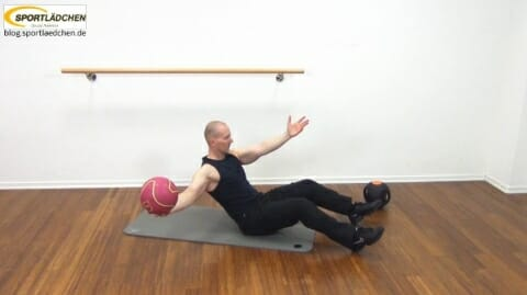 Core Training Workout Uebung 1 Variante A Bild 2