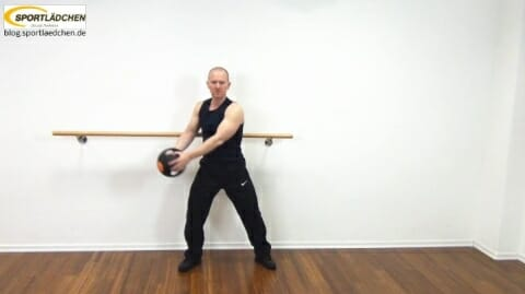 Core Training Workout Uebung 6 Variante A Bild 1