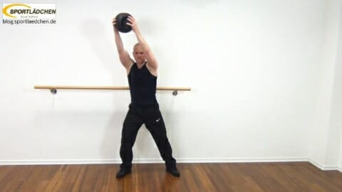 Core Training Workout Uebung 6 Variante A Bild 2