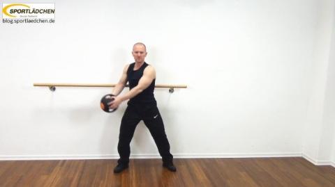 Core Training Workout Uebung 6 Variante A Bild 1