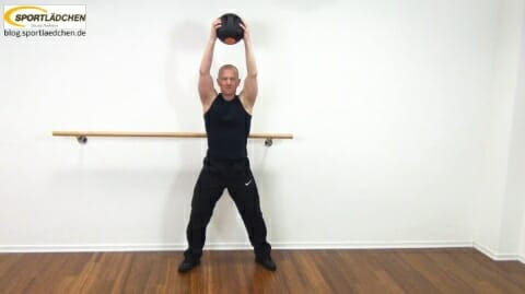 Core Training Workout Uebung 6 Variante B Bild 1