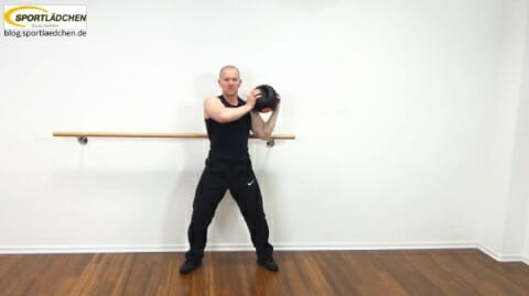 Core Training Workout Uebung 6 Variante B Bild 2