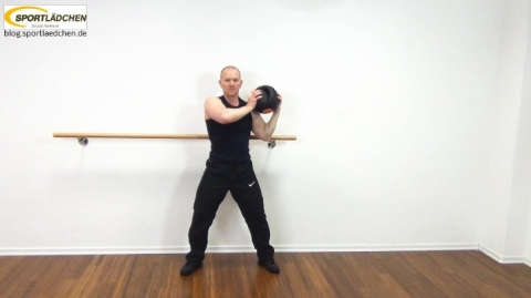Core Training Workout Uebung 6 Variante B Bild 2