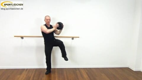 Core Training Workout Uebung 6 Variante C Bild 2