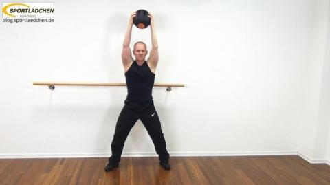Core Training Workout Uebung 6 Variante C Bild 1