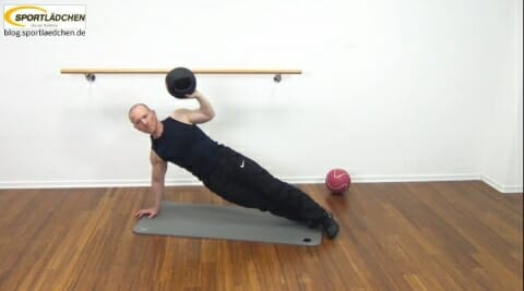 Core Training Workout Uebung 8 Bild 1