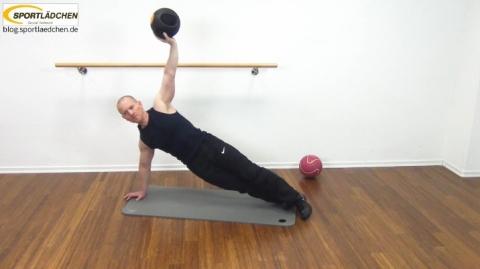 Core Training Workout Uebung 8 Bild 2
