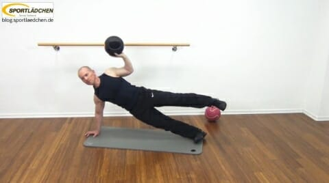 Core Training Workout Uebung 8 Bild 3