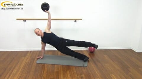 Core Training Workout Uebung 8 Bild 4
