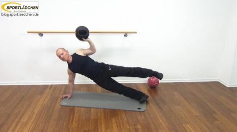 Core Training Workout Uebung 8 Bild 3