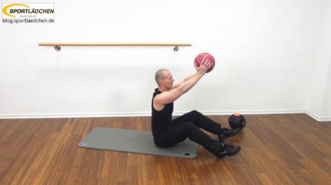 Core Training Workout Uebung 1 Variante B Bild 2