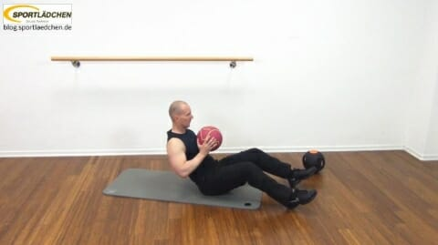 Core Training Workout Uebung 1 Variante C Bild 2