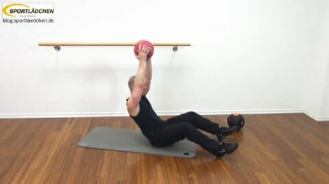 Core Training Workout Uebung 1 Variante C Bild 3