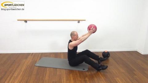 Core Training Workout Uebung 1 Variante C Bild 1