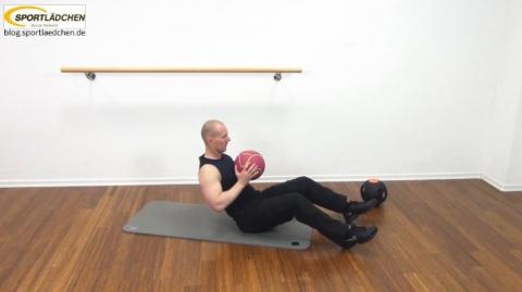 Core Training Workout Uebung 1 Variante C Bild 2