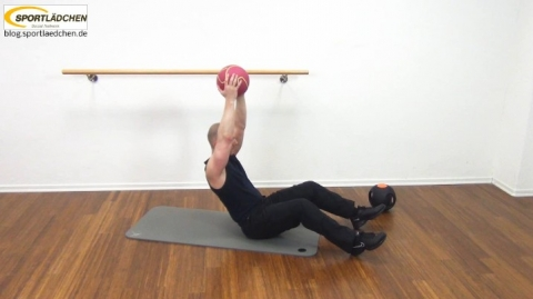 Core Training Workout Uebung 1 Variante C Bild 3