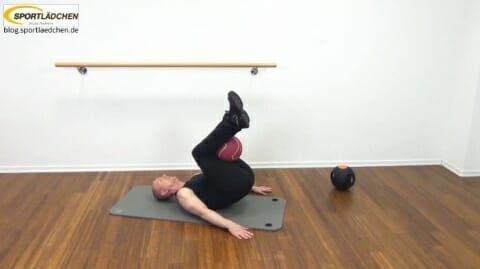 Core Training Workout Uebung 2 Bild 2