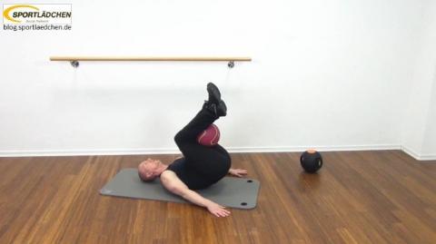 Core Training Workout Uebung 2 Bild 2