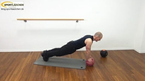 Core Training Workout Uebung 3 Bild 2
