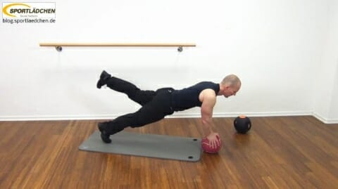 Core Training Workout Uebung 3 Bild 3
