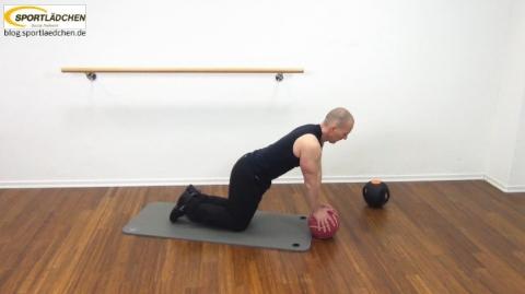 Core Training Workout Uebung 3 Bild 1