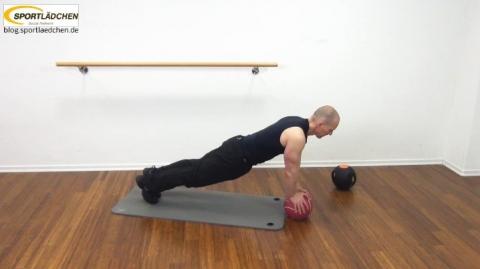 Core Training Workout Uebung 3 Bild 2