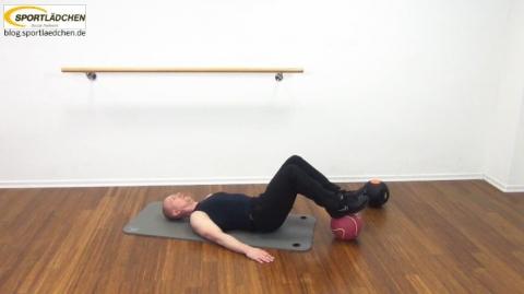 Core Training Workout Uebung 4 Variante A Bild 2