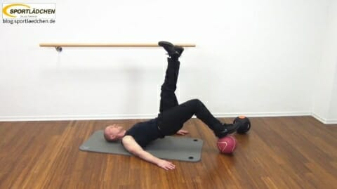 Core Training Workout Uebung 4 Variante B Bild 1