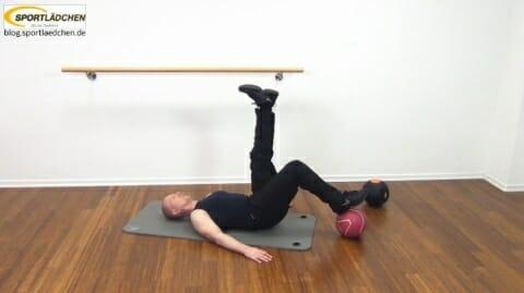 Core Training Workout Uebung 4 Variante B Bild 2