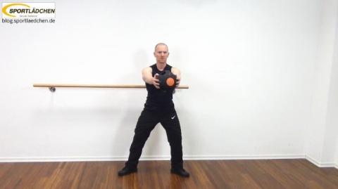 Core Training Workout Uebung 7 Bild 8