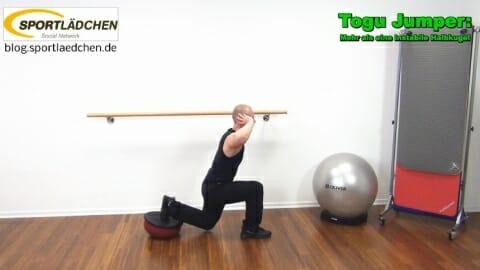Einbeinige Kniebeuge Instabilitaet hinteres Bein 2
