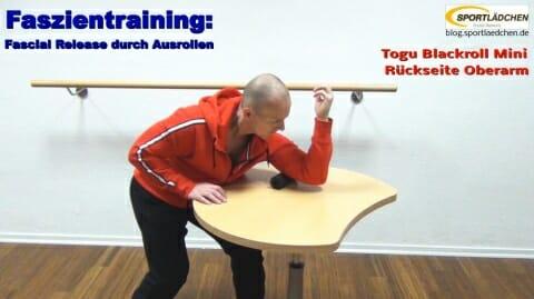 Faszien Fitness Trizep 2