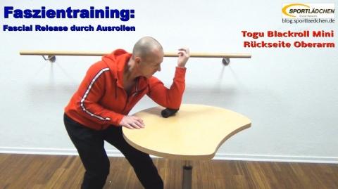 Faszien Fitness Trizep 1