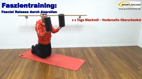 Faszien Fitness 2 Rolle Oberschenkel 1