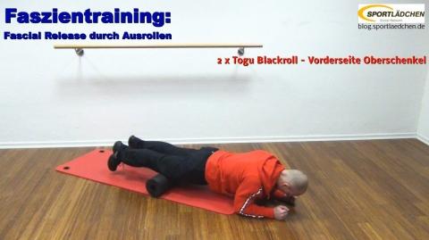 Faszien Fitness 2 Rolle Oberschenkel 2