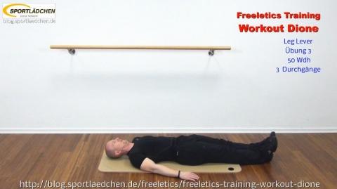 Freeletics Dione Leg Lever 1
