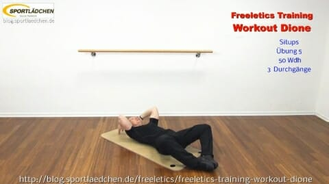 Freeletics Dione Situps 1