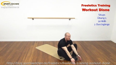 Freeletics Dione Situps 2