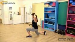 Ausfallschritt mit Knee Lift 1