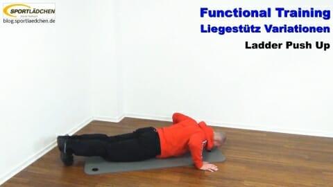 Functional Training Liegestuetze Ladder 2
