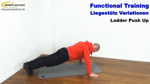Functional Training Liegestuetze Ladder 1
