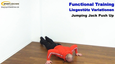Functional Training Liegestuetze Jumping Jack 2