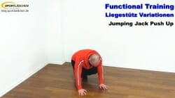 Functional Training Liegestuetze Jumping Jack 1